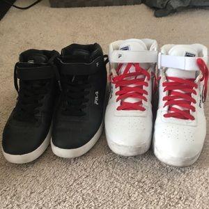 Big Boys Fila Sneakers